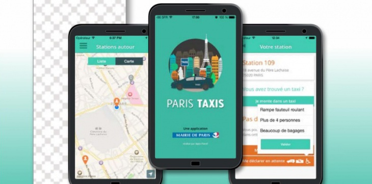 j 39 ai test l 39 application paris taxis eurecab. Black Bedroom Furniture Sets. Home Design Ideas